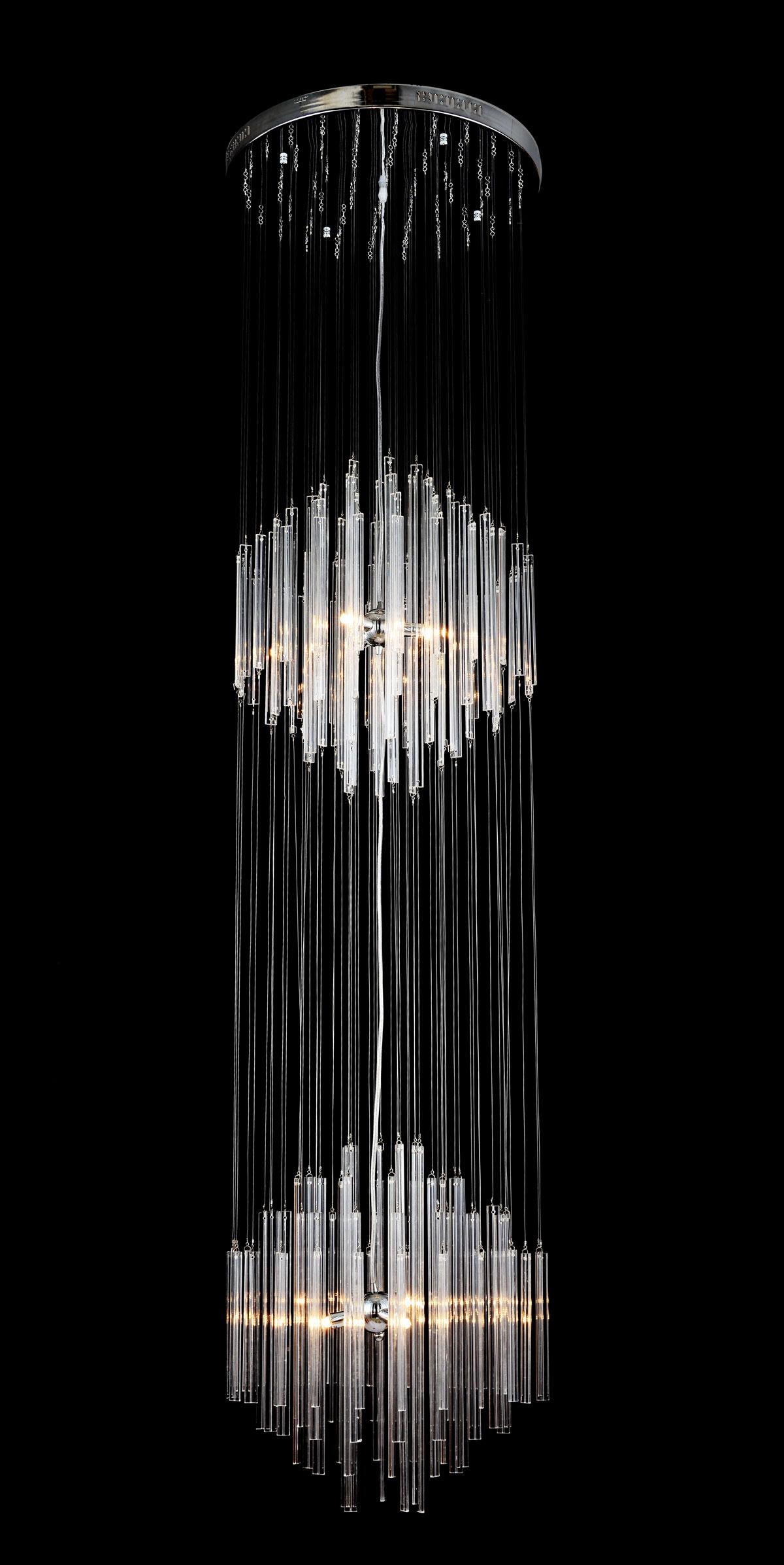 Titania orseo 2m lange deckenleuchte deckenlampe leuchte for Lange deckenlampe